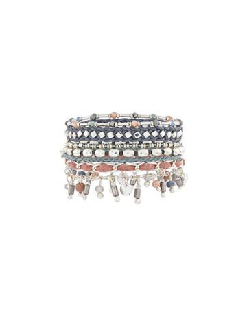 Accessorize Sleek Silver Eclectic Bracelets