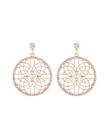 Accessorize Diamante Filigree Earrings