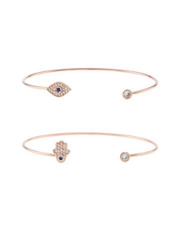 Accessorize Karma Cuff Bracelet Pack