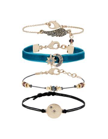 Accessorize 4x Celestial Friendship Bracelets