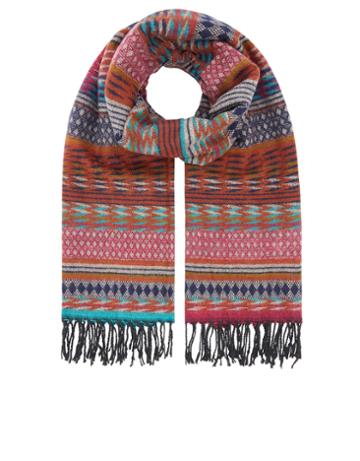 Accessorize Brighton Patchwork Scarf
