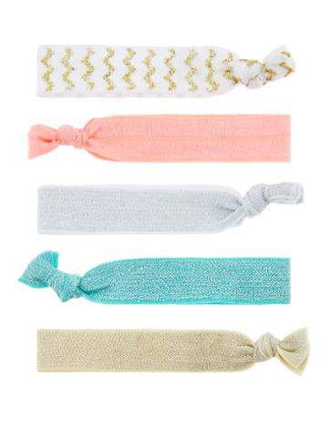 Accessorize 5x Summer Sparkle Hair Ties