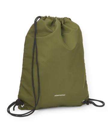 Aeropostale Aeropostale Drawstring Backpack - Olive