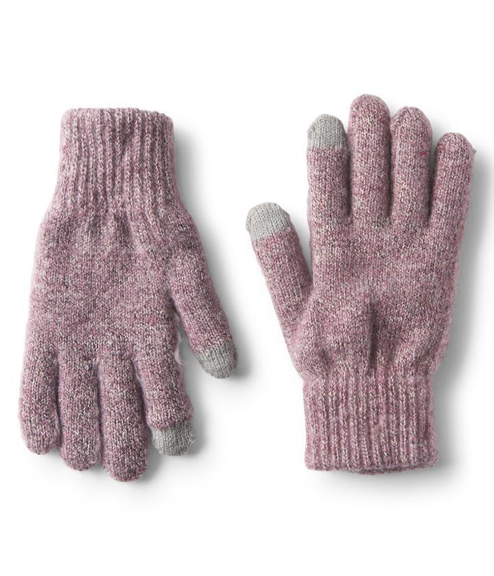 Aeropostale Aeropostale Marled Gloves - Purple