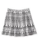 Aeropostale Textured Tribal Skirt