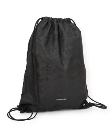 Aeropostale Aeropostale Drawstring Backpack - Black