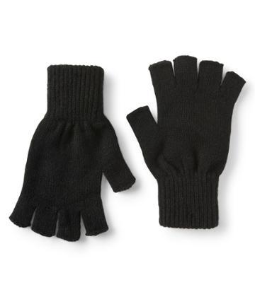 Aeropostale Aeropostale Fingerless Gloves - Black