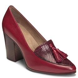 Aerosoles Times Square Heel, Wine Leather