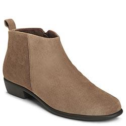 Aerosoles Step It Up Bootie, Taupe Suede