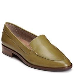Aerosoles East Side Flat, Green Leather