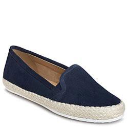 Aerosoles Lets Drive Slip-on, Navy Suede