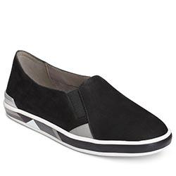 Aerosoles Fun Night Shoe, Black Nubuck