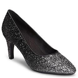 Aerosoles Exquisite Pump, Black Silver