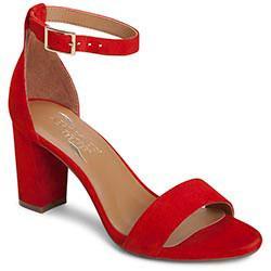 Aerosoles Bird Of Paradise Sandal, Mid Red Suede