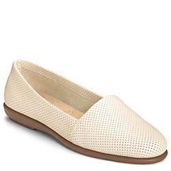 Aerosoles Ms Softee Slip-on, Bone Leather