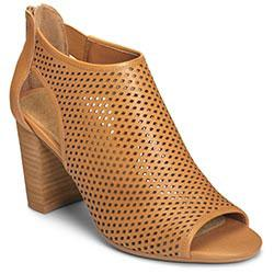 Aerosoles High Frequency Bootie, Dark Tan Leather