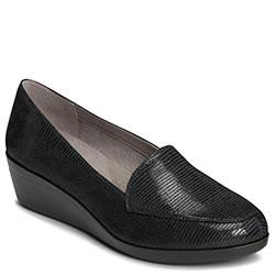 Aerosoles True Match Wedge, Black Lizard