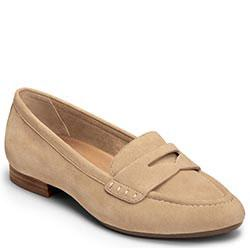 Aerosoles Map Out Flat, Light Tan Suede