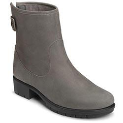 Aerosoles Just Kidding Boot, Dark Gray Nubuck