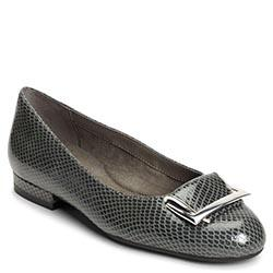 Aerosoles Good Times Flat, Grey Snake