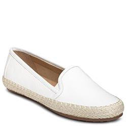 Aerosoles Lets Drive Slip-on, White Leather