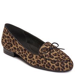 Aerosoles Feel Good Flat, Leopard Tan