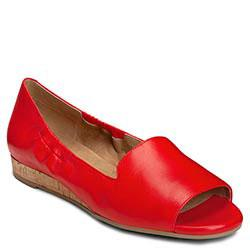 Aerosoles Tidbit Loafer, Mid Red Leather
