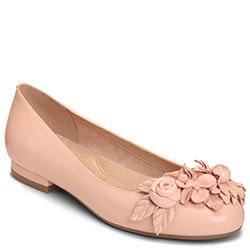 Aerosoles Do Good Flat, Light Pink Leather