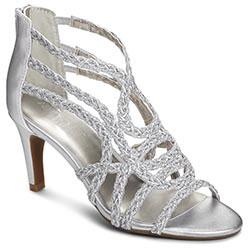 Aerosoles Exclamation Sandal, Silver