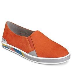 Aerosoles Fun Night Shoe, Orange Nubuck