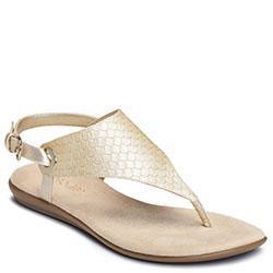 Aerosoles Conchlusion Sandal, Gold Metallic