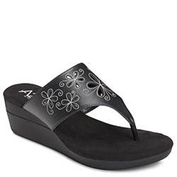 Aerosoles Air Flow Wedge, Black