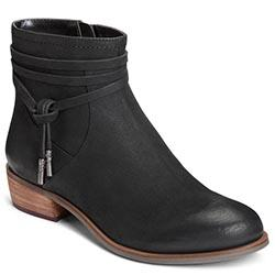 Aerosoles West River Boot, Black Nubuck