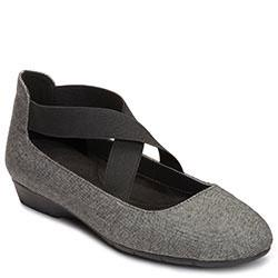 Aerosoles Rite Now Flat, Grey Wool