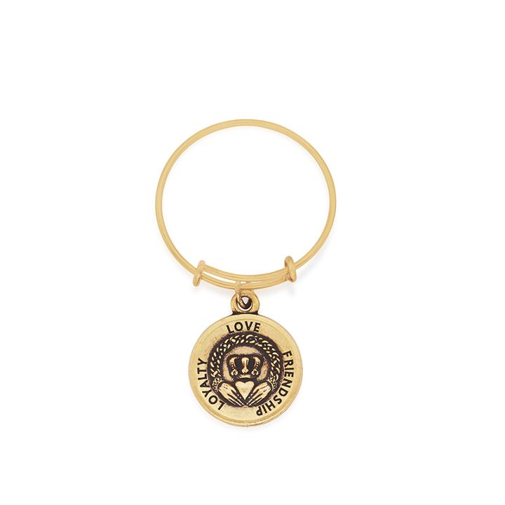 Alex And Ani Claddagh Expandable Wire Ring