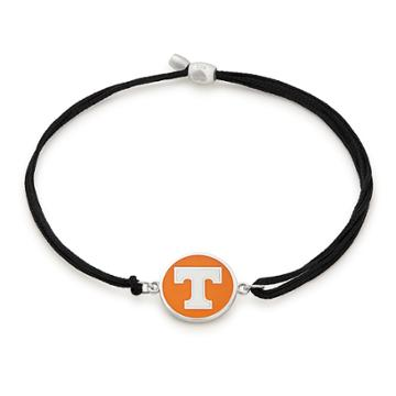 Alex And Ani University Of Tennessee Pull Cord Bracelet, Sterling Silver