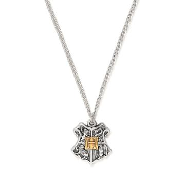 Alex And Ani Harry Potter  Hogwarts  Two Tone Necklace, Mixed Metal