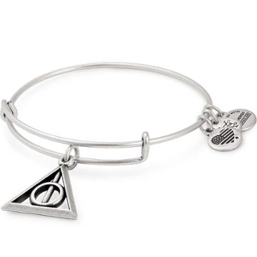 Alex And Ani Harry Potter  Deathly Hallows  Charm Bangle, Rafaelian Silver Finish