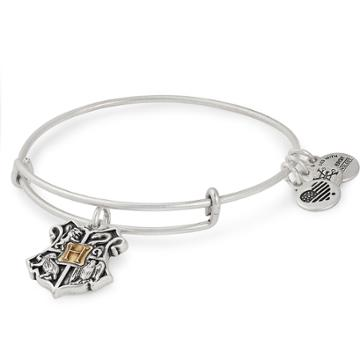 Alex And Ani Harry Potter  Hogwarts  Two Tone Charm Bangle, Mixed Metal