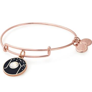 Alex And Ani Joy Charm Bangle Online Exclusive, Shiny Rose Gold Finish