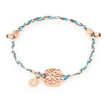 Alex And Ani Path Of Life Precious Threads Bracelet, 14kt Rose Gold Plated