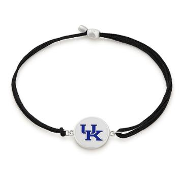 Alex And Ani University Of Kentucky Pull Cord Bracelet, Sterling Silver