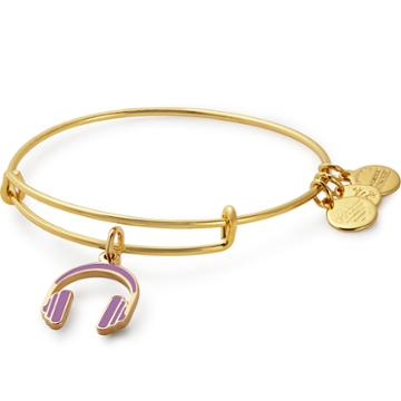 Alex And Ani Headphones Color Infusion Charm Bangle