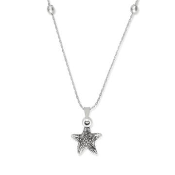 Alex And Ani Starfish Expandable Necklace
