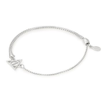 Alex And Ani Harry Potter  Deathly Hallows  Pull Chain Bracelet, Sterling Silver