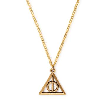 Alex And Ani Harry Potter  Deathly Hallows  Necklace, Rafaelian Gold Finish