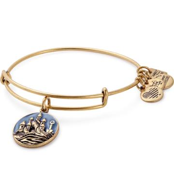 Alex And Ani Sand Castle Charm Bangle | Sos Children's Villages