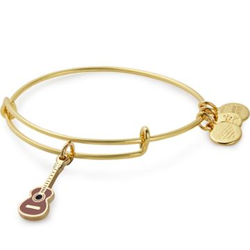 Alex And Ani Guitar Color Infusion Charm Bangle