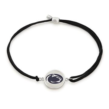 Alex And Ani Pennsylvania State University Pull Cord Bracelet, Sterling Silver