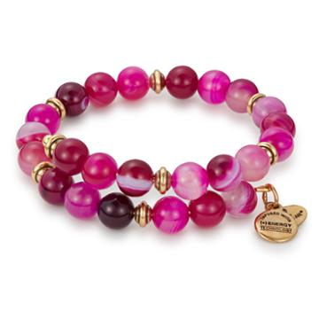 Alex And Ani Dragonfruit Marble Wrap, Rafaelian Gold Finish